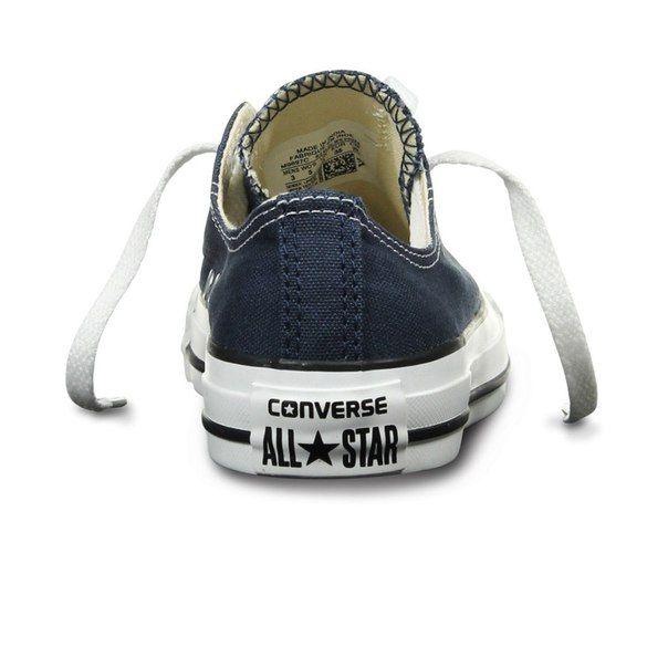 Converse   Синие кеды Converse All Star OX Navy e5cc1e1ac21