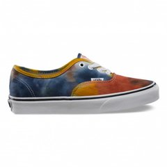 фото Кеды Vans Authentic (Tie Dye) Navy/Burnt Orange f