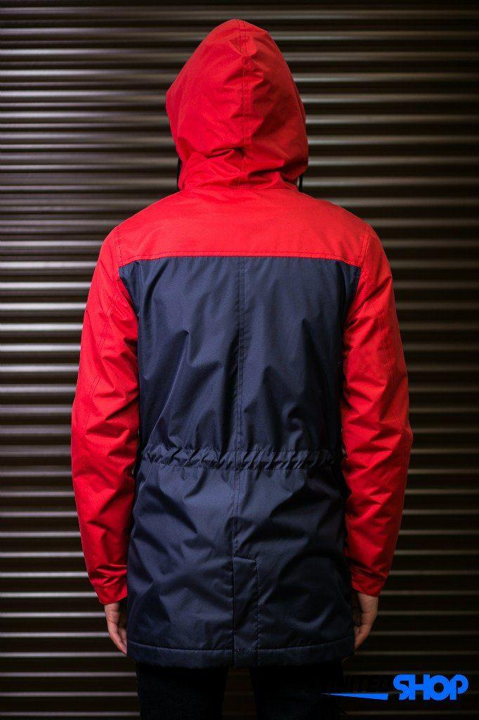 Парка куртка Outfits червоно-синього кольору 445c90b9c7c05