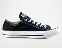 фото Черные кеды Converse All Star ox black