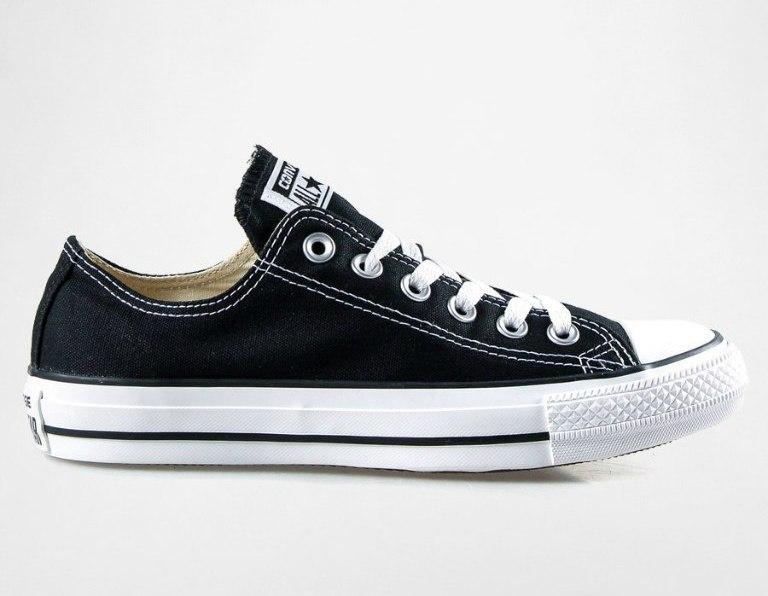фото Чорні кеди Converse All Star ox black ... b84362e1dddd7
