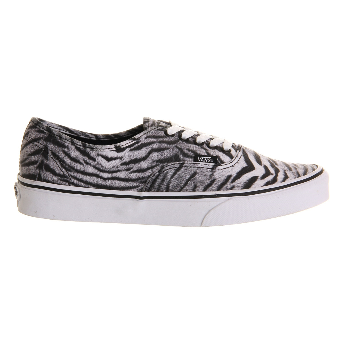 фото Кеды Vans Authentic (Tiger) Black/True White