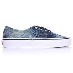 фото Кеди Vans Authentic (Acid Denim) Black/ True White