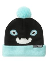 фото Шапка з бомбоном Drop Dead Clothing Kiba Bobble