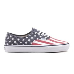 фото Кеды Vans Authentic Van Doren Stars and Stripes