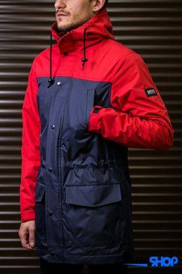 ... фото Парка куртка Outfits червоно-синього кольору ... 52ab3145ff7ce