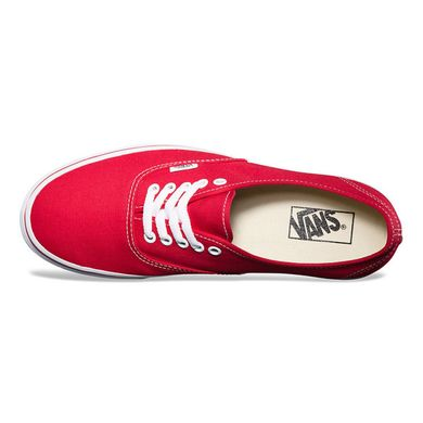 фото Кеди Vans Authentic Red