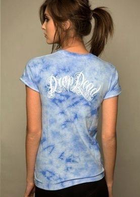 фото Футболка Drop Dead Clothing Shark Tie Dye