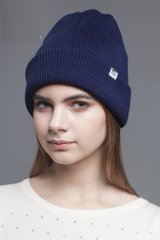 фото Шапка Milk Clothing ribbed beanie Navy