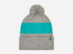 фото Шапка Urban Planet pom gray/blue