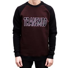 фото Свитшот Transmod Logo Brown Black